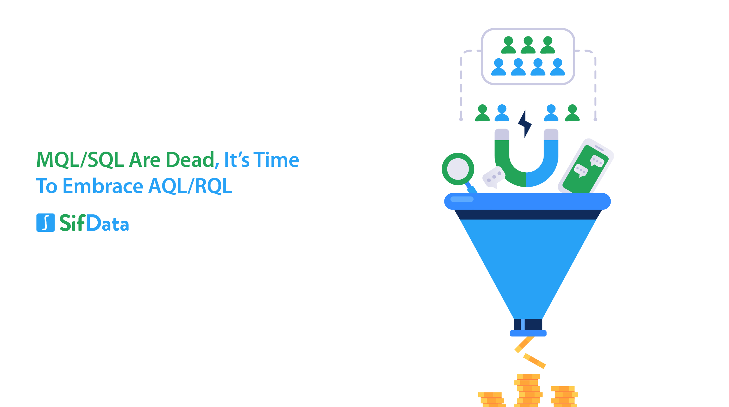 MQL/SQLS ARE DEAD, IT'S TIME TO EMBRACE AQL/RQL